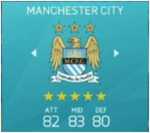 FIFA 16 Manchester City
